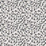 Abstracte Vectordriehoeksachtergrond Veelhoekig patroon Meetkundeillustratie voor conceptontwerp, decoratie Naadloze textuur Stock Afbeelding