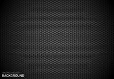 Abstracte vectorgradiëntveelhoek/hexagon van de achtergrond affichebanner ontwerpmalplaatje Royalty-vrije Stock Afbeeldingen