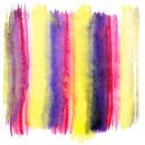 Abstracte vectorhand geschilderde achtergrond royalty-vrije illustratie