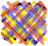 Abstracte vectorhand geschilderde achtergrond stock illustratie