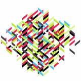 abstracte vectorillustratie Stock Foto