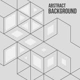 abstracte vectorillustratie Royalty-vrije Stock Foto