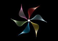 Abstracte vectorreeks als achtergrond Royalty-vrije Stock Afbeelding