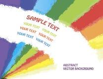 Abstracte vectorspectrumachtergrond Royalty-vrije Stock Foto