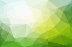 Abstracte veelhoek geometrische achtergrond Royalty-vrije Stock Afbeelding