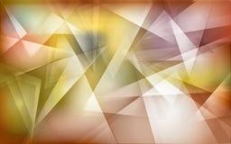 Abstracte veelhoekachtergrond Stock Foto