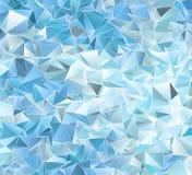 Abstracte veelhoekige achtergrond Royalty-vrije Stock Afbeelding