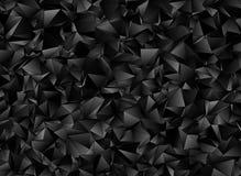 Abstracte veelhoekige achtergrond Driehoekige textuur Royalty-vrije Stock Foto's