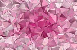 Abstracte Veelhoekige textuur als achtergrond Stock Afbeeldingen