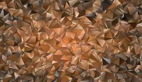 Abstracte Veelhoekige textuur als achtergrond Stock Afbeelding