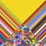 Abstracte veelkleurige achtergrond Royalty-vrije Stock Afbeeldingen