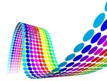 Abstracte Veelkleurige Regenboog Stock Afbeeldingen
