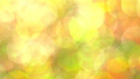 Abstracte veelkleurige zonnig schittert blured lichten en fonkelingen stock video