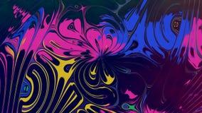 Abstracte Veranderende Bloem royalty-vrije illustratie