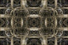 Abstracte Verbindingenachtergrond Royalty-vrije Stock Afbeelding