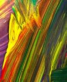 Abstracte verf Stock Afbeeldingen