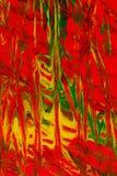 Abstracte verf Royalty-vrije Stock Fotografie