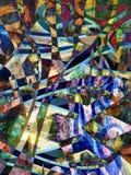 Abstracte verf Stock Fotografie