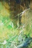 Abstracte verf blauwgroene bruine witte achtergrond royalty-vrije stock afbeeldingen