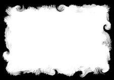 Abstracte verf grunge grens Stock Afbeelding