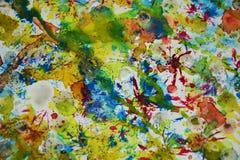 Abstracte verf vage tinten, de wasachtige creatieve achtergrond van de pastelkleurverf Stock Foto's