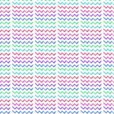 Abstracte verfijnde prachtige elegante grafische mooie kleurrijke gebroken van de het patroonwaterverf van de lijnenzigzag de han Stock Afbeelding