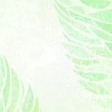 Abstracte verlaten grunge groene bloemenachtergrond Royalty-vrije Stock Foto