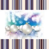 Abstracte vieringsachtergrond met Kerstmisdec Royalty-vrije Stock Fotografie