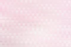 Abstracte vierkante kleurenachtergrond, roze en wit Stock Afbeelding