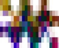 Abstracte vierkante levendige meetkunde, heldere achtergrond, kleurrijke meetkunde stock illustratie