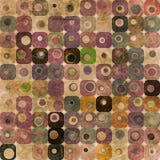 Abstracte vierkanten Stock Afbeelding