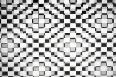 Abstracte vierkantenachtergrond Royalty-vrije Stock Afbeeldingen