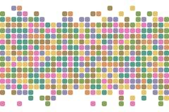 Abstracte vierkantenachtergrond Het kan voor prestaties van het ontwerpwerk noodzakelijk zijn stock illustratie