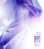 Abstracte violette achtergrond Royalty-vrije Stock Afbeeldingen