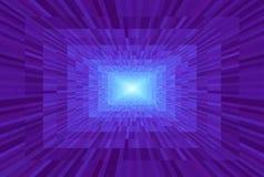 Abstracte violette gradiëntachtergrond Textuur met rechthoekige blokken in perspectief Het Licht van het mozaïekpatroon aan het e royalty-vrije illustratie