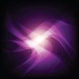 Abstracte violette lichte achtergrond Stock Foto's