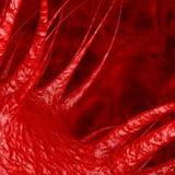 Abstracte Virus, Bacteriën of Microbe het 3d teruggeven stock illustratie