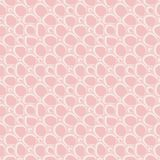 Abstracte vlakke stenen, hand getrokken etnisch patroon Vector roze retro ornament voor textiel, drukken, behang, verpakkend docu royalty-vrije illustratie