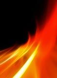 Abstracte vlammenachtergrond Stock Foto
