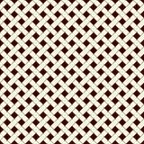 Abstracte vlechtenachtergrond Naadloos oppervlaktepatroon met herhaalde diagonale weefsel rechthoekige tegels Rieten behang royalty-vrije illustratie