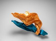 Abstracte vliegende stof Royalty-vrije Stock Afbeelding