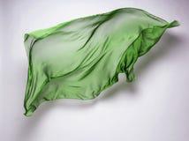 Abstracte vliegende stof Stock Foto's