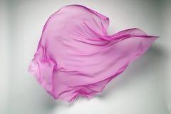 Abstracte vliegende stof Royalty-vrije Stock Foto's