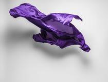 Abstracte vliegende stof Stock Afbeeldingen