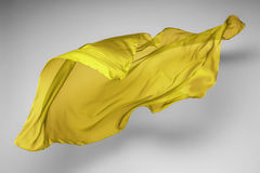 Abstracte vliegende stof Stock Foto