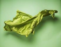 Abstracte vliegende stof Stock Afbeelding