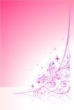Abstracte vlinder Stock Illustratie