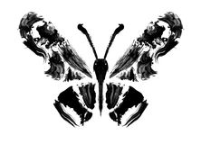 Abstracte vlinder Royalty-vrije Stock Foto