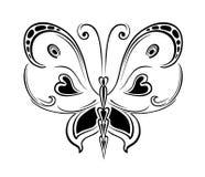 Abstracte vlinder Royalty-vrije Stock Afbeelding