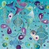 Abstracte vlinder Royalty-vrije Stock Afbeeldingen